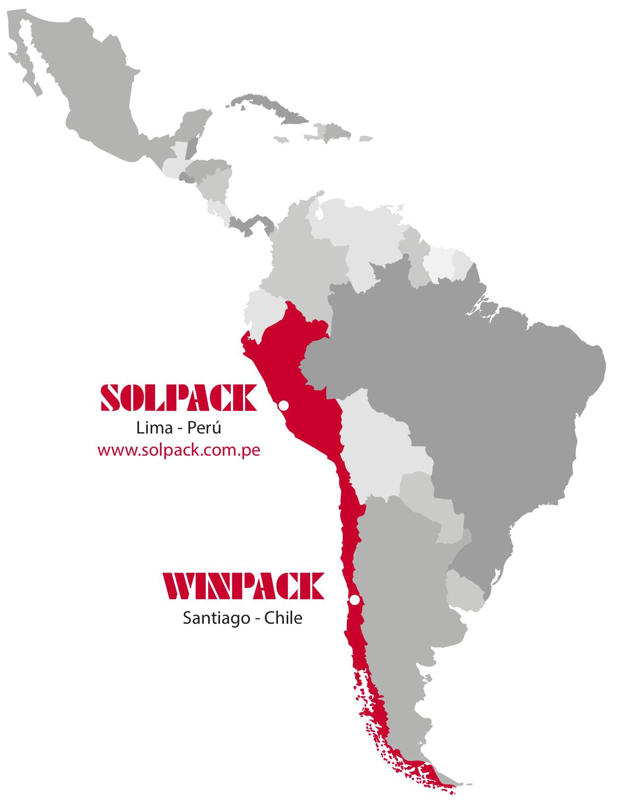 Mapa Winpack