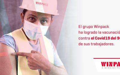 100% DE VACUNADOS CONTRA EL COVID19 EN PLANTA DE PACKAGING